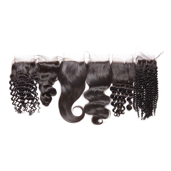 Virgin Mongolian 4x4 Lace Closures