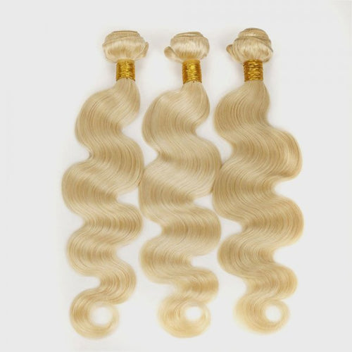 Raw Russian #613 Blonde Hair 3-Bundle Deals