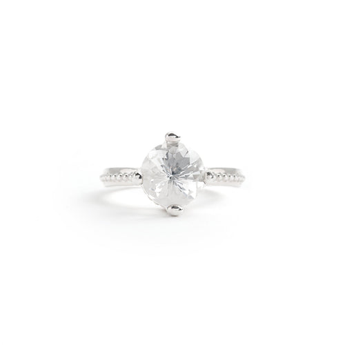 10mm Solitaire Ring