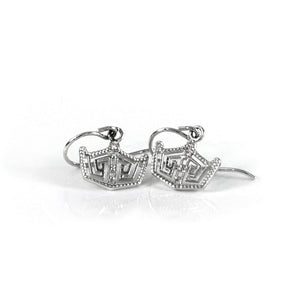 Crown Hook Earrings Small