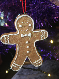 Pair Of Gingerbread Ornaments