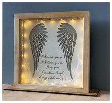 Limited Edition  LED Guardian Angel Plaque