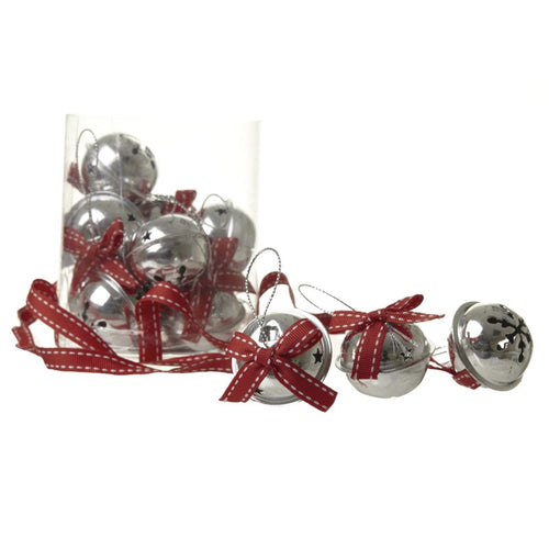 Red Ribbon Boxed Bell Set