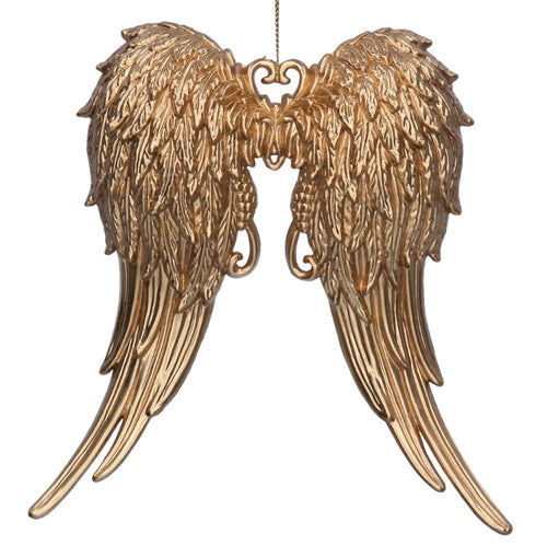 Gold Angel Wings Decoration