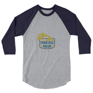 Pomrenke Official 3/4 sleeve raglan shirt
