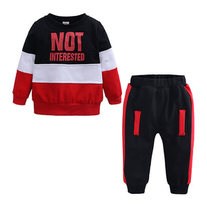 Long Sleeve Regular Cotton Clothing Set / Toddler