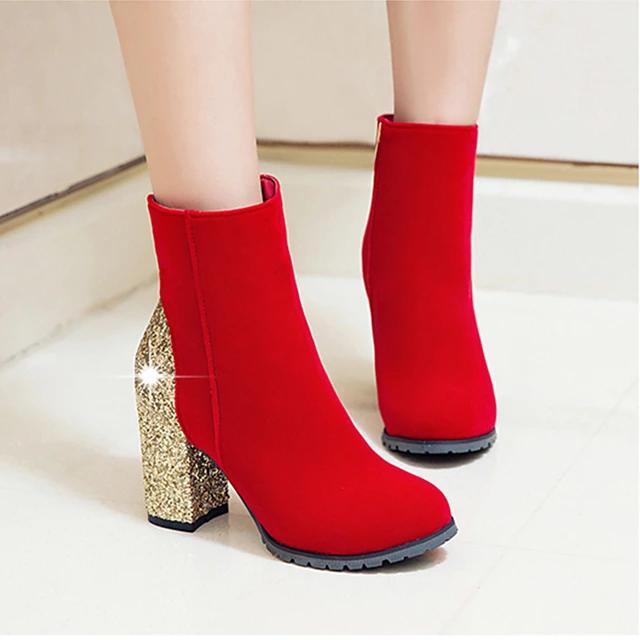 Ankle Block Boots