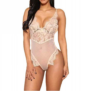 Sexy Lace Babydoll Lingerie One Piece Teddy