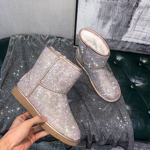 Bling Crystal Snow Boot
