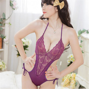 Women's Backless Lace Lingerie / Ultra Sexy / Teddy Nightwear