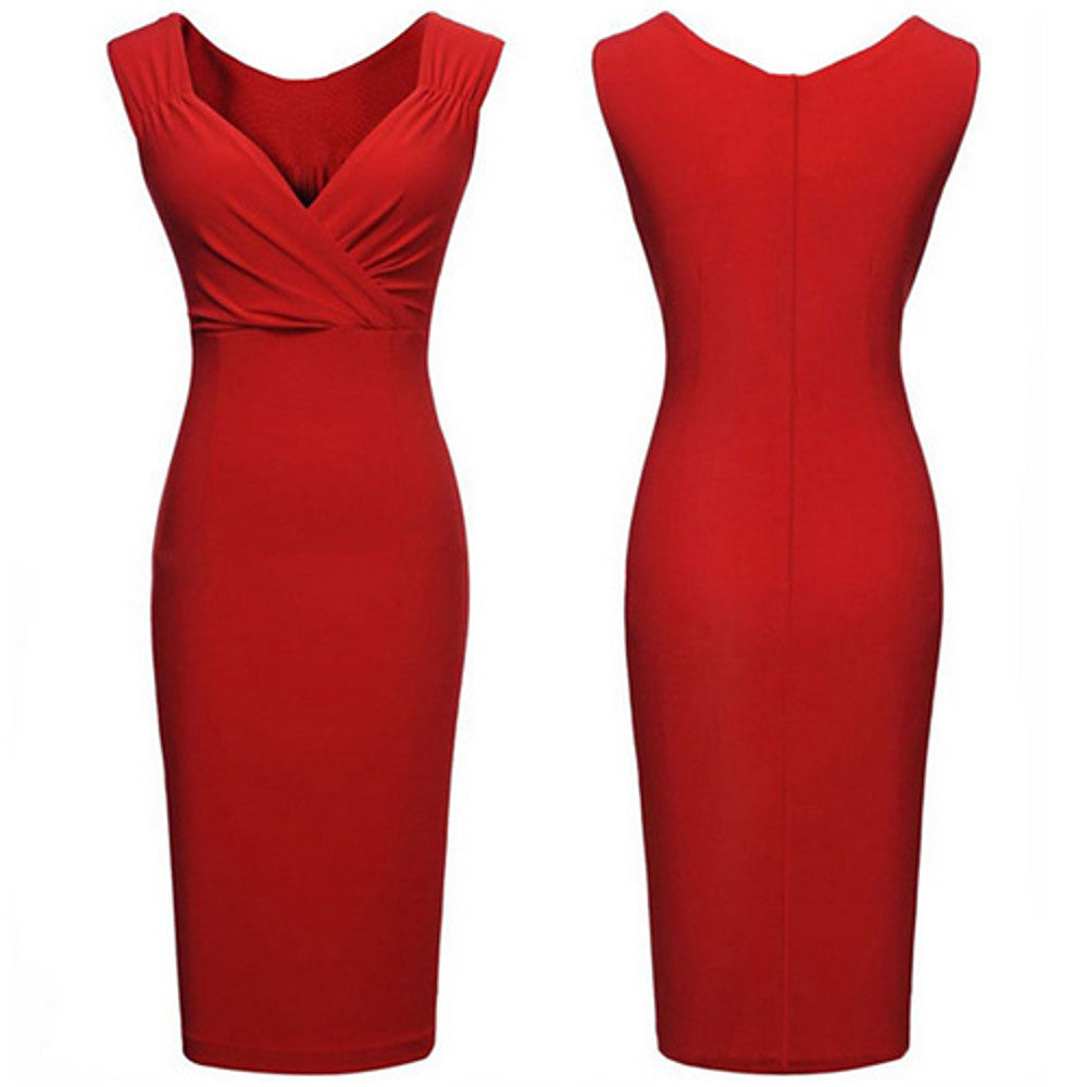 Plus Size  Bodycon Dress -XL XXL XXXL