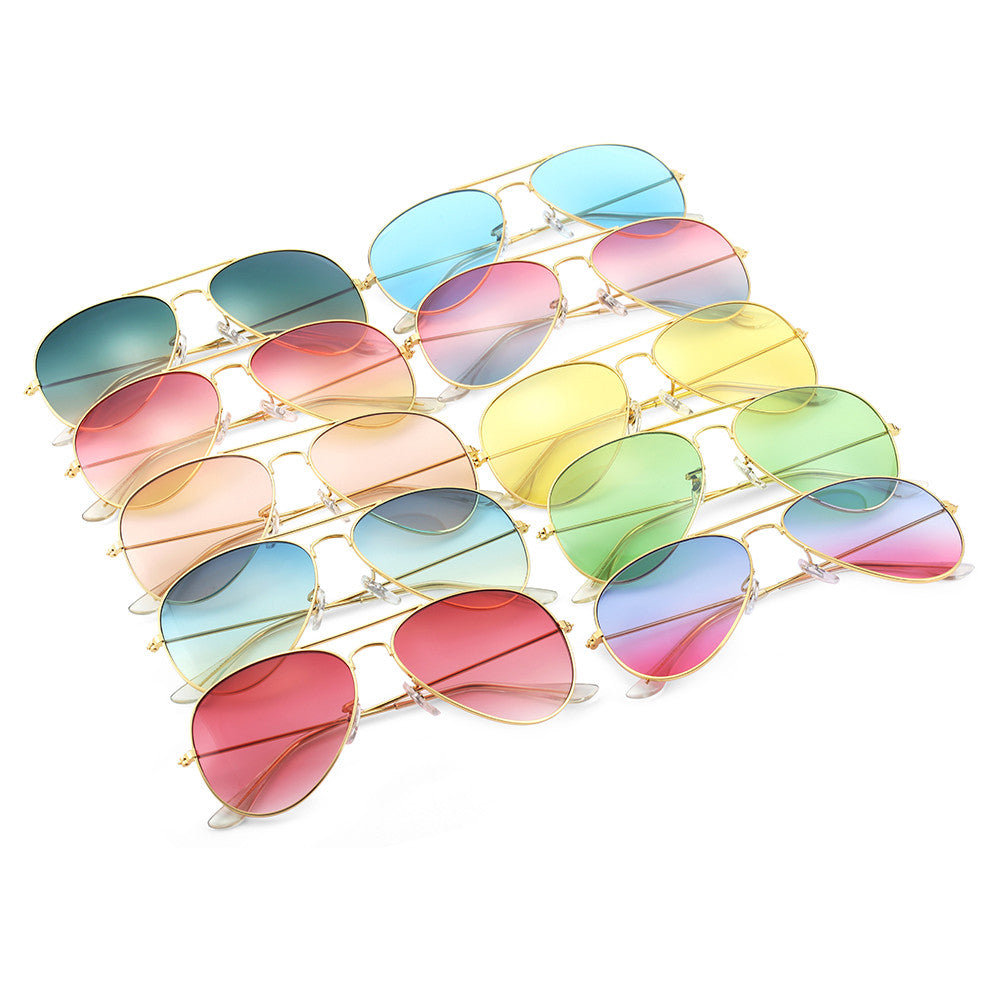 Pilot Sunglasses Sea Gradient Shades