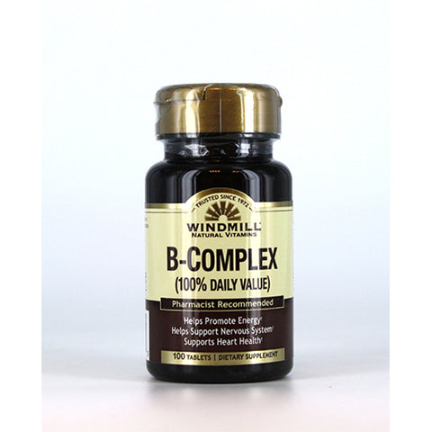 B-COMPLEX 100% DAILY VALUE