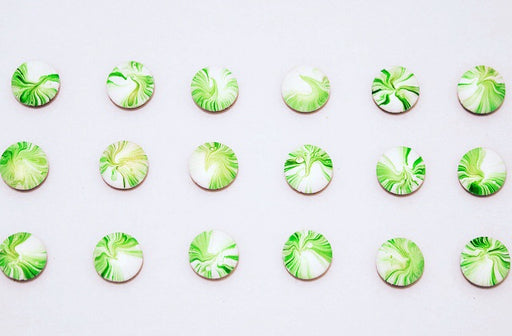 St. Patrick's Day Marble Pony Muffins
