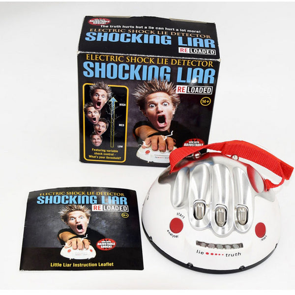SHOCKING LIAR Lie Detector Game (FREE SHIPPING OFFER ENDS TODAY)