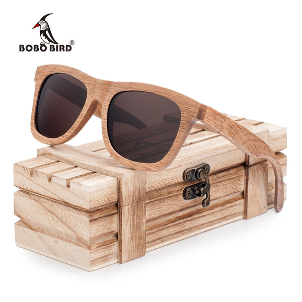 Polarized Handmade Original Wooden Sunglasses