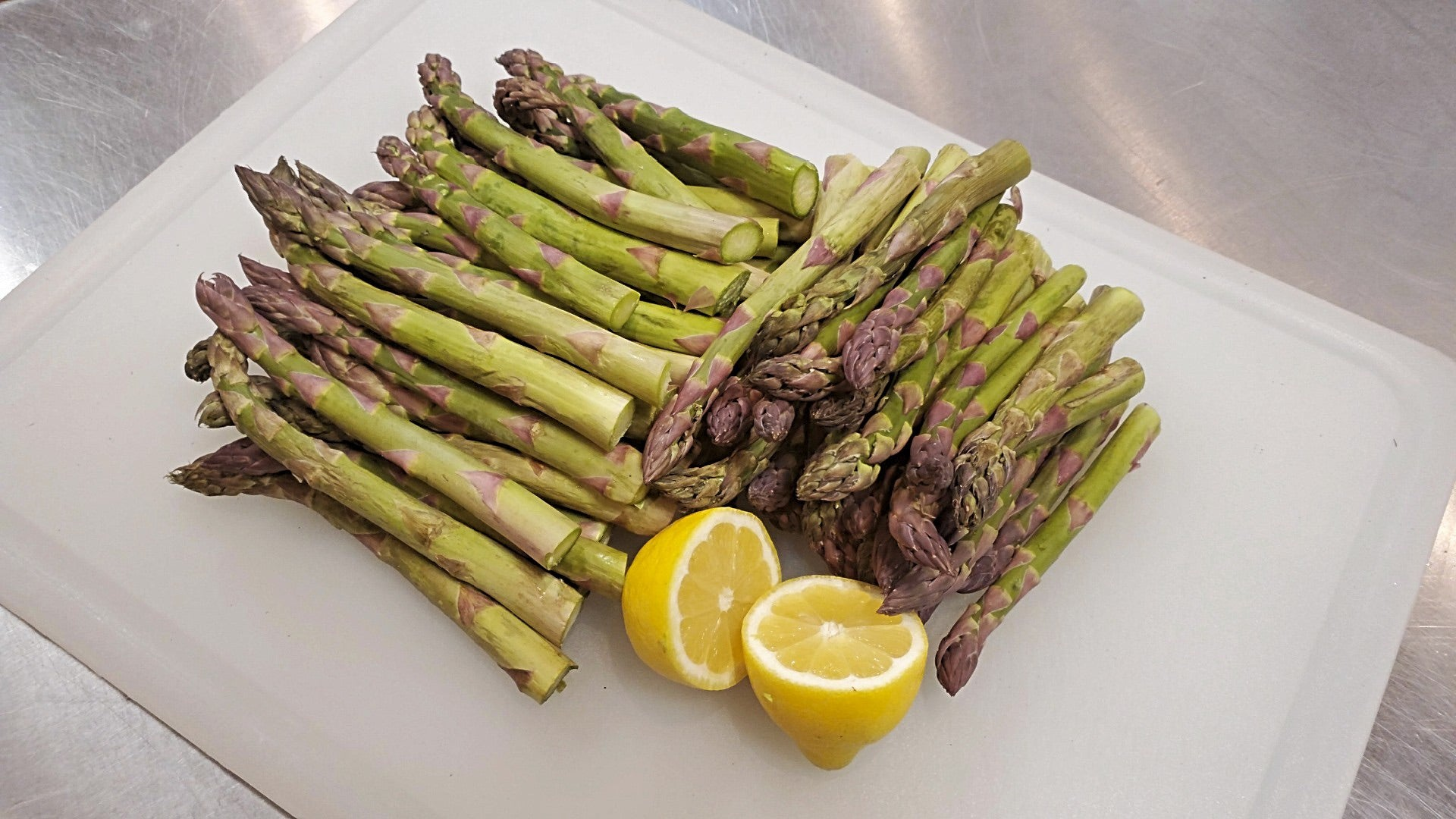 Side Of Steamed Asparagus