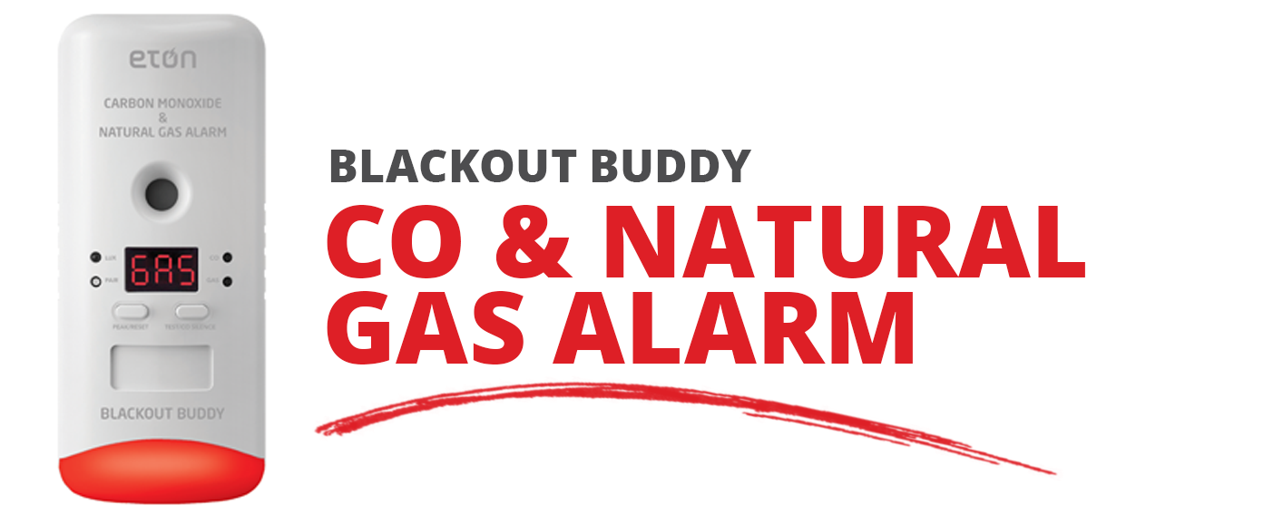 Blackout Buddy CO & Natural Gas Alarm