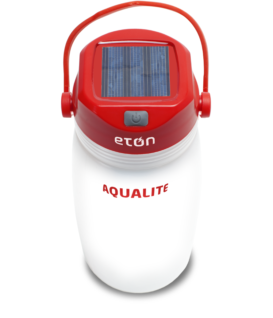 AAA - AquaLite Solar Powered Lantern & Basic Emergency Kit