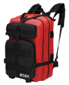 4 person, 72 hour emergency kit w/ American Red Cross FRX2 Radio
