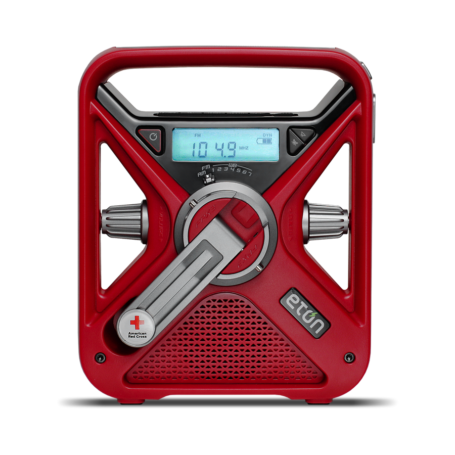 American Red Cross FRX3+ Multi-Powered Weather Alert Radio