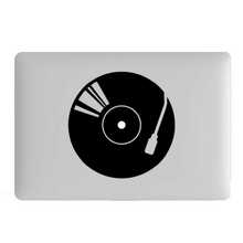 Turntable Laptop Decal
