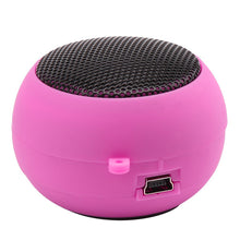 FORNORM Wired Music Player Speaker Mini Protable Music player stereo mini speakers 3.5mm Jack Hamburg Type Telescopic