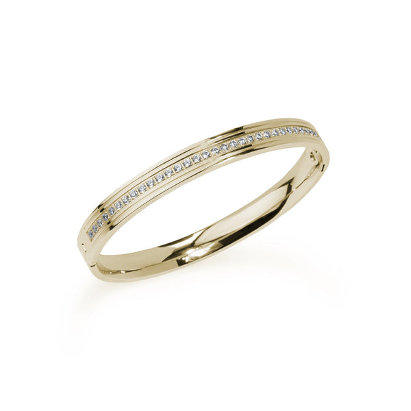 gold classic bangle bracelet women
