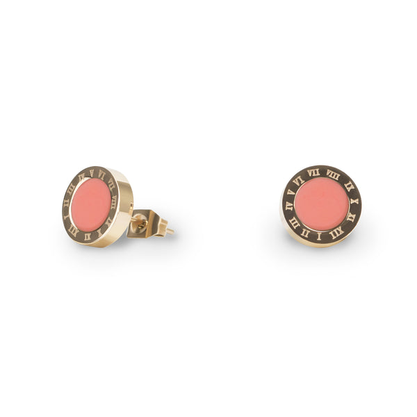 coral-stud-earrings-stainless-hypoallergenic-T316E001CO-MIA