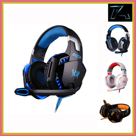 High quality Deep Bass Gaming Headset Stereo PC Gamer - سماعة رأس للقيمنق