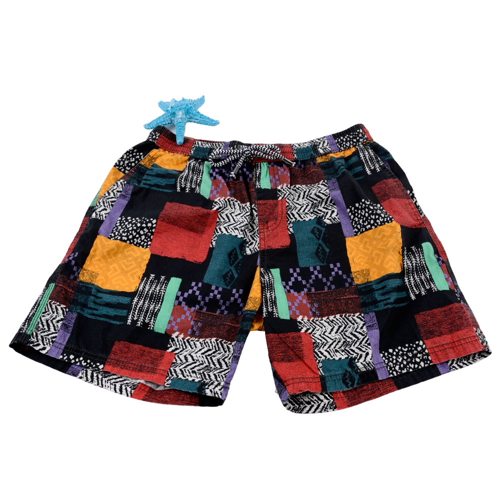 Multi-Colored Board Shorts