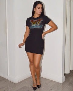 Show me Love LV Mini Dress