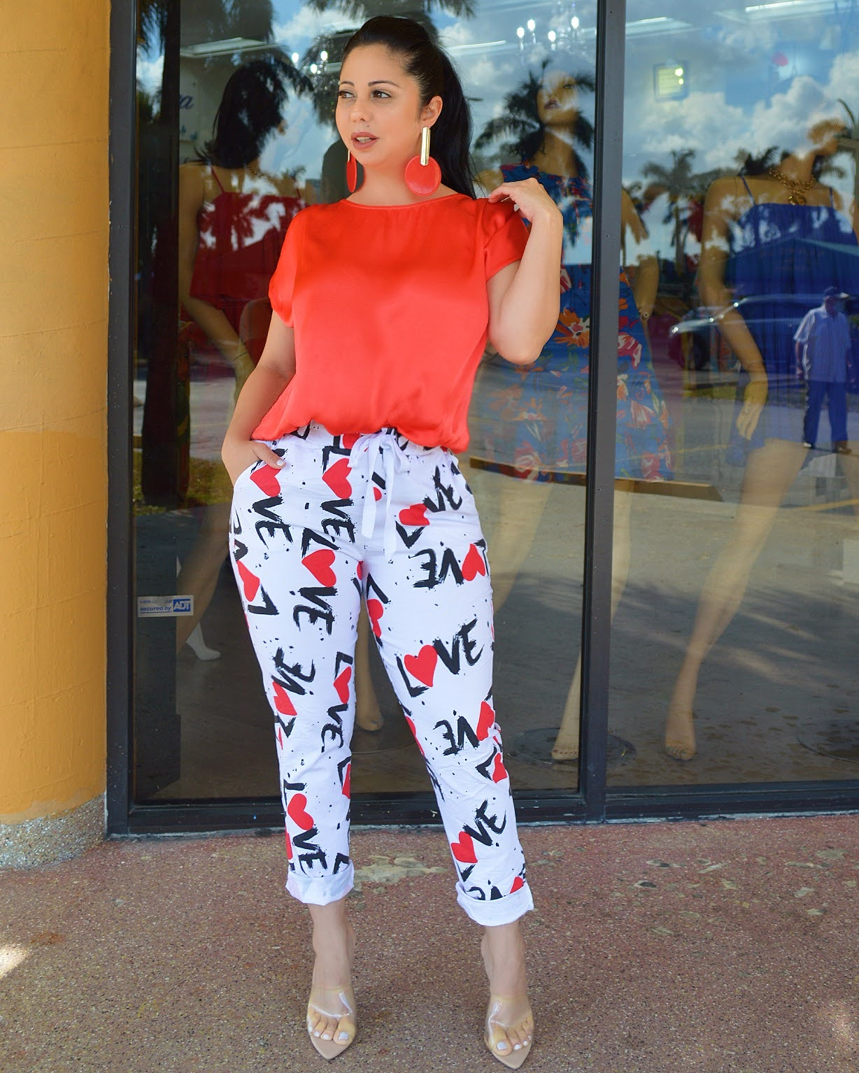Love Me  Italian Pants - La Epoca Fashion