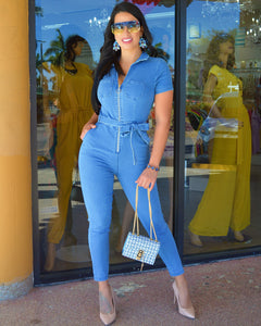 Aside from the Rest Denim Jumpsuit - La Epoca Fashion