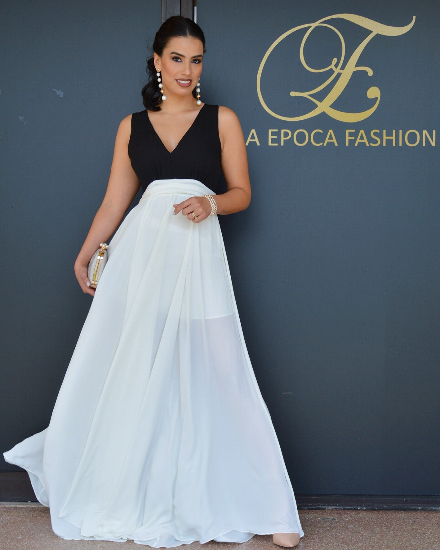 She just Can't get Enough Glam Gown Dress - La Epoca Fashion