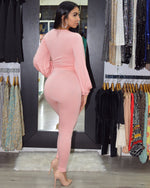 Load image into Gallery viewer, Khaled So Cute Blush Pant  Set
