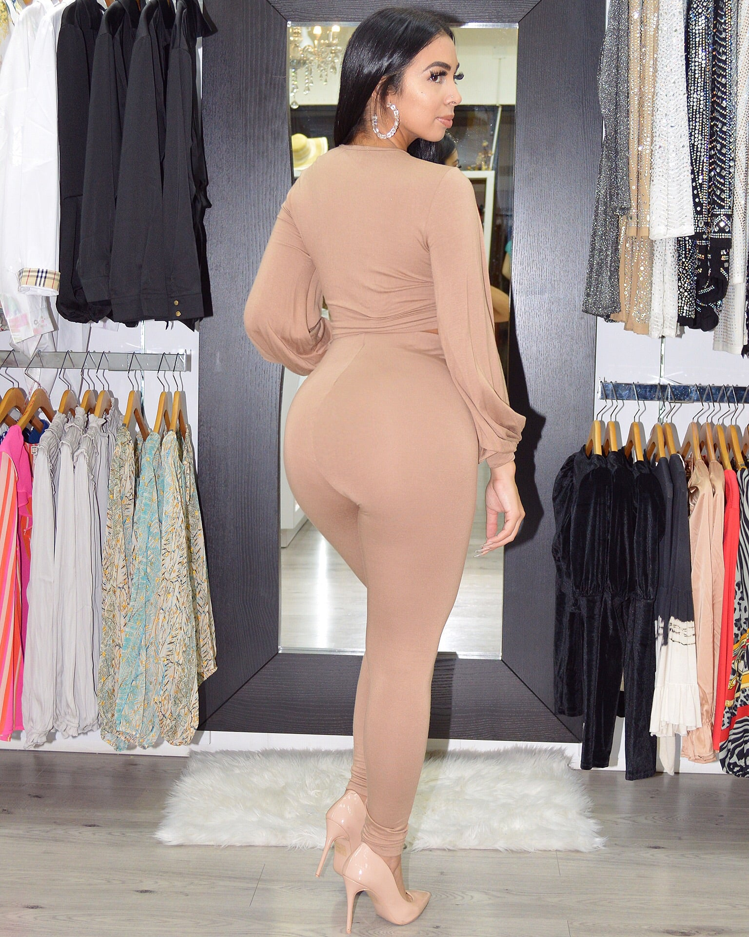 Khaled So Cute Nude Pant  Set
