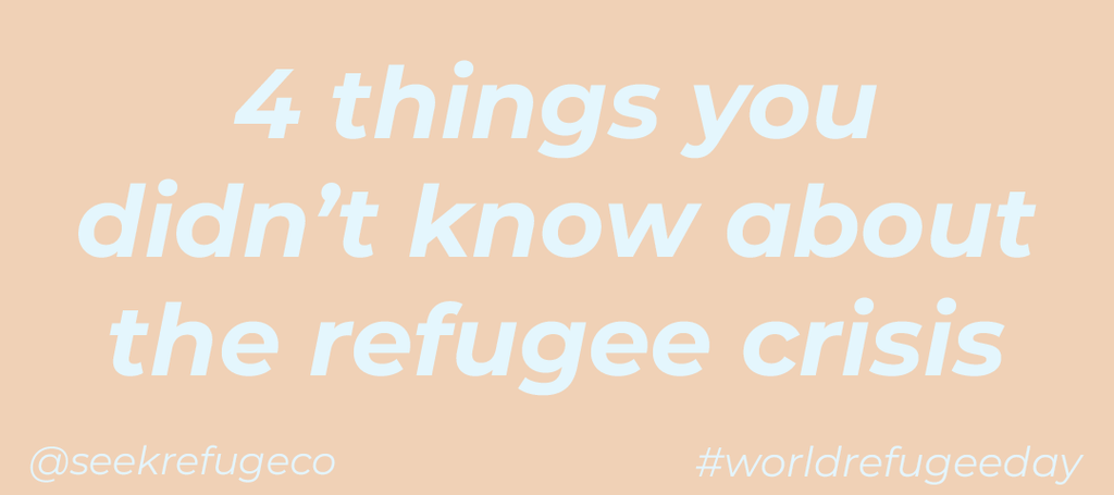 4 Things You Didn't Know About the Refugee Crisis this World Refugee Day