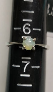 Green Star Saphire Ring