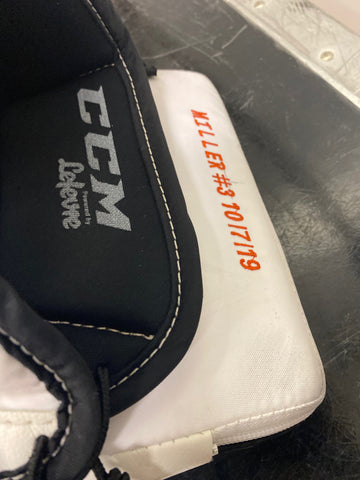 Ryan Miller CCM Goalie Blocker - Anaheim