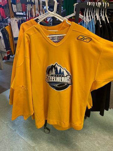 Idaho Steelheads Practice Jersey - Reebok - Yellow - Goalie Cut