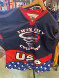 Twin City Cyclones USA Jersey - Size 54 - #4