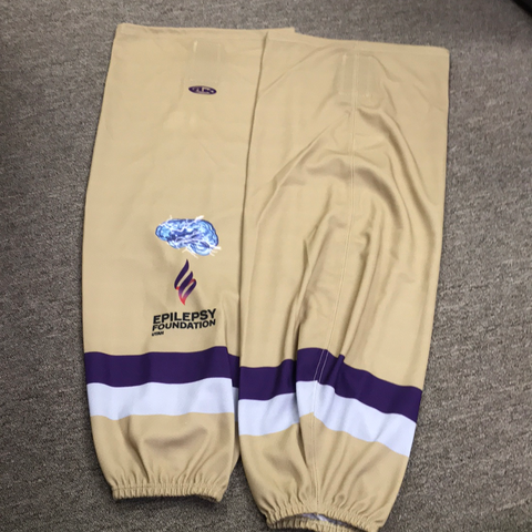 Used Utah Epilepsy Foundation Socks - 31""