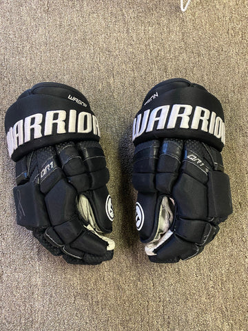 Korbinian Holzer - Autographed & Game Used Gloves - Warrior Covert QR1 15""