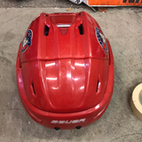 Bauer Reakt 95 Jamestown Rebels Red Helmet - Medium - H5M