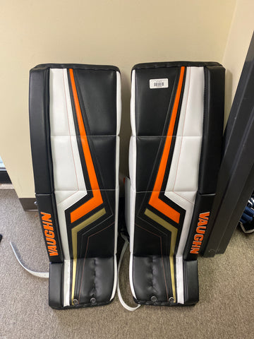 New Ryan Miller Vaughn Goalie Pads - Pro V Elite - 36+2 - Anaheim