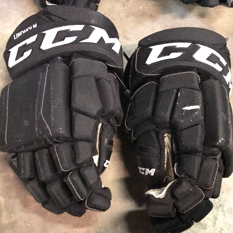 "CCM SR Lindholm Black Gloves - 14"" - G91"