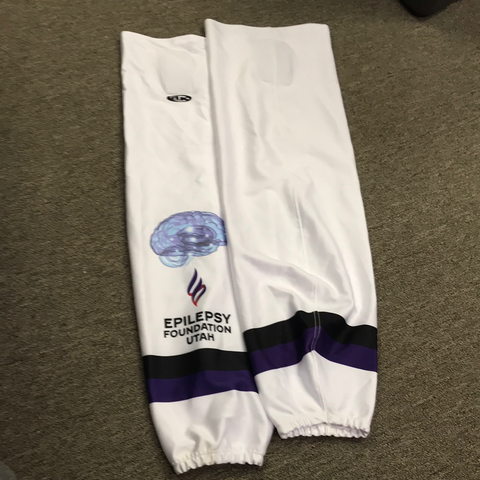 Used Utah Epilepsy Foundation Socks - 30""