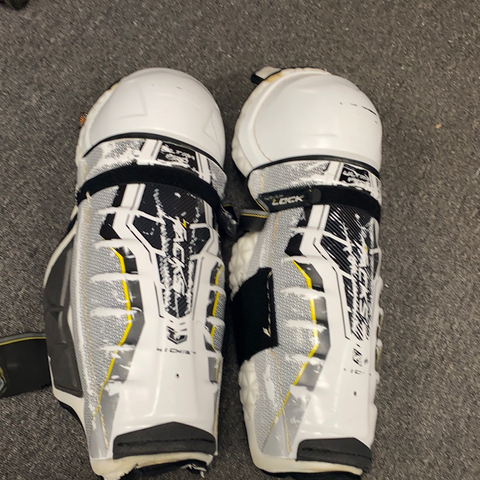 Used CCM Tacks Shin Pads - 16""