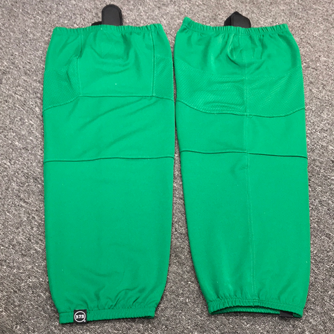 Used OSU Bauer Green Practice Socks - L/XL